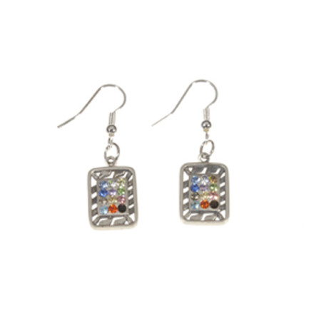 Square Choshen Earrings